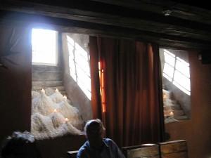 Lichteinfall Kellergewölbe