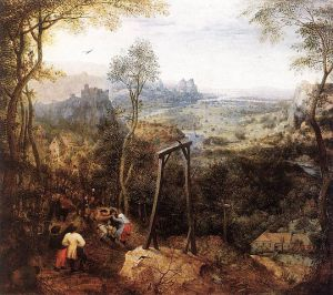 Elster auf dem Galgen, Pieter Bruegel d. Ä