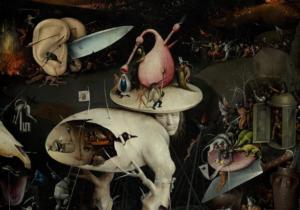 Der Garten der Lüste Hieronymus Bosch (circa 1450–1516) [Public domain], via Wikimedia Commons