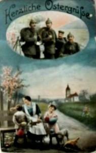 feldpostkarte vom großvater e.zorn